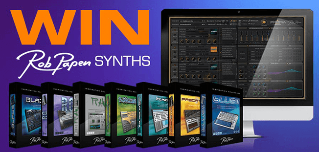 Time+Space Rob Papen prize draw