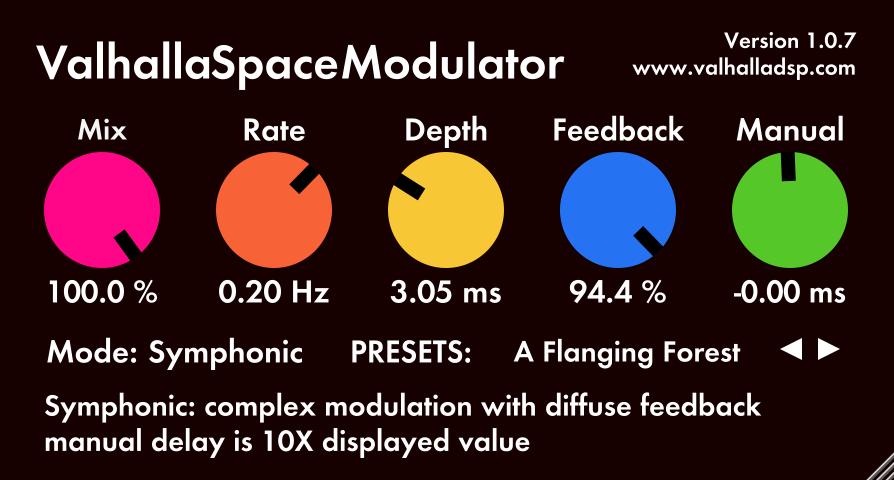 Valhalla SpaceModulator