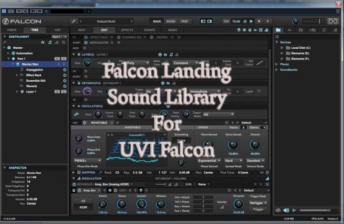 Wagsrfm Falcon Landing library