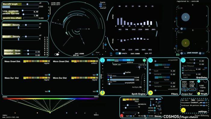 sonicLAB Cosmos f Saturn