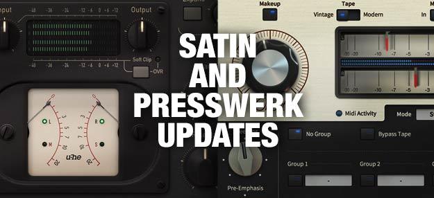 u-he Satin & Presswerk updates