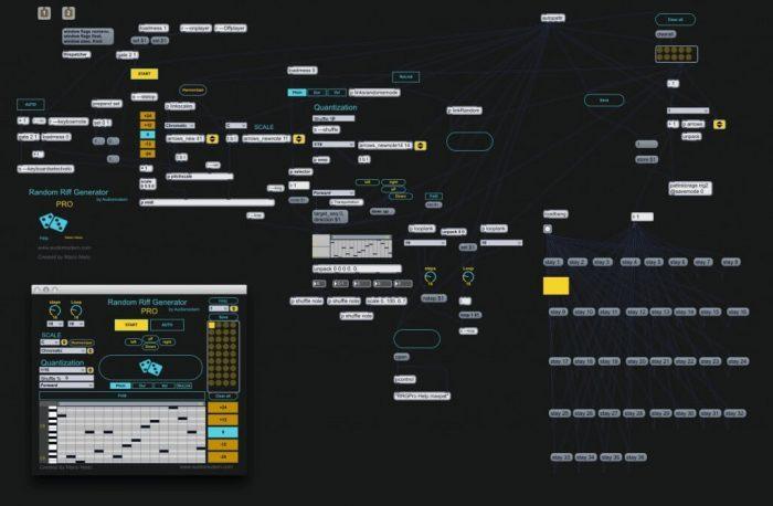 Audiomodern Random Riff Generator