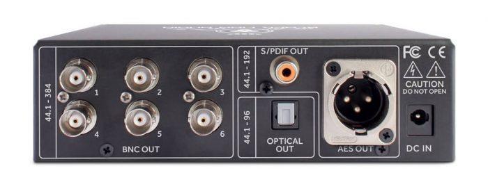 Black Lion Audio Micro Clock MkIII XB rear
