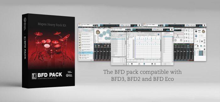 Drumdrops Mapex Heavy Rock Kit BFD