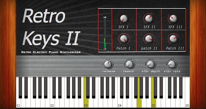 Greynote Music Retro Keys 2