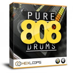 Hex Loops Pure 808 Drums