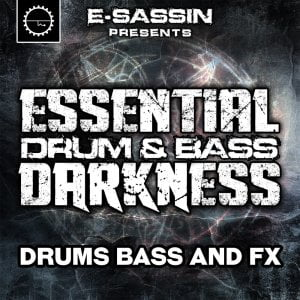 Industrial Strength E-Sassin Essential Drum & Bass Darkness