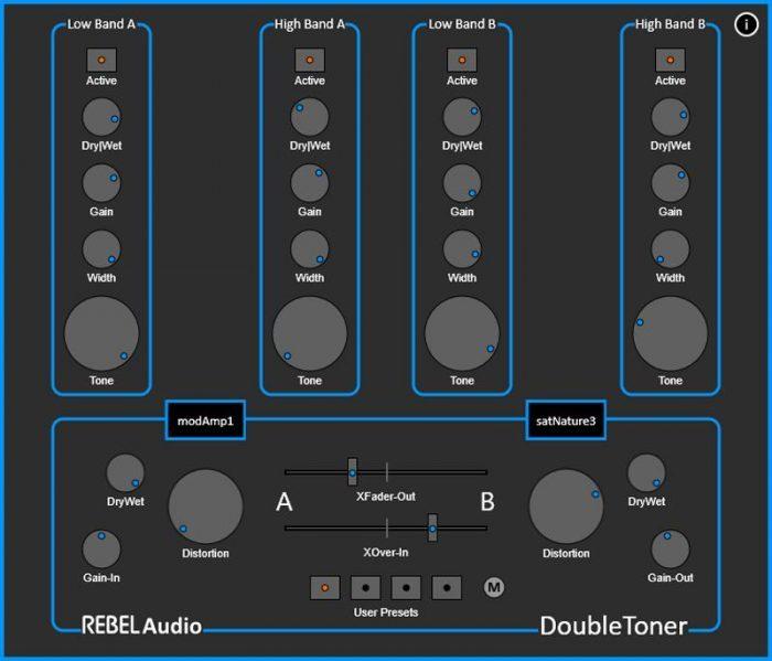 Rebel Audio DoubleToner