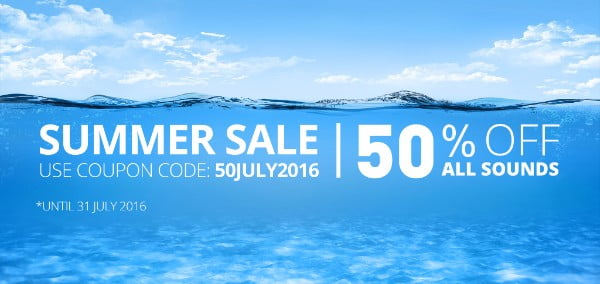 Reveal Sound Summer Sale 2016