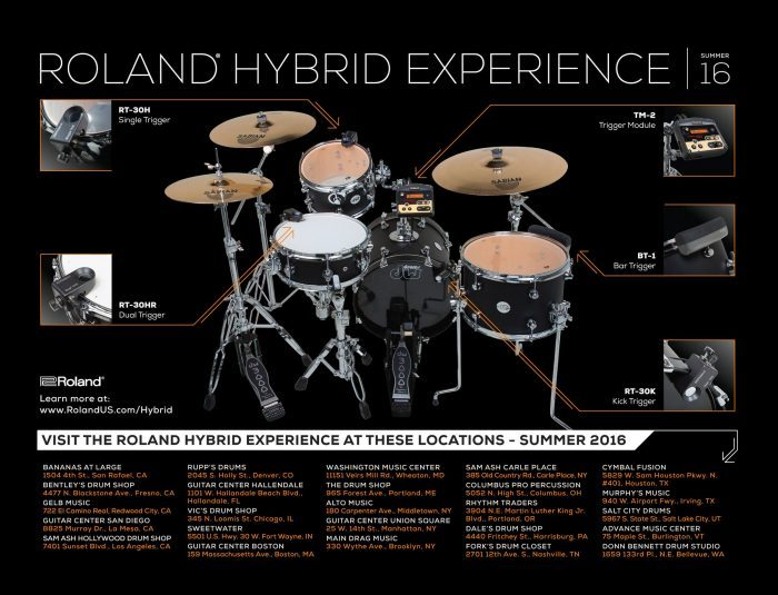 Roland Hybrid Experience Summer 2016