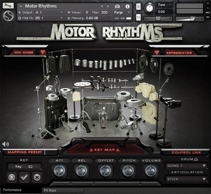 Soundiron Motor Rhythms