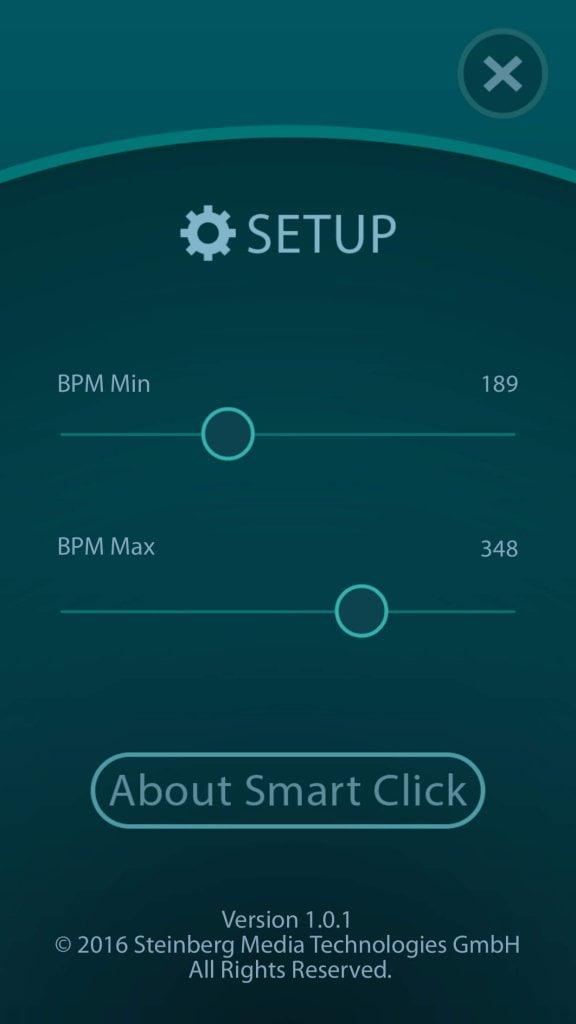 Steinberg Smart Click Setup