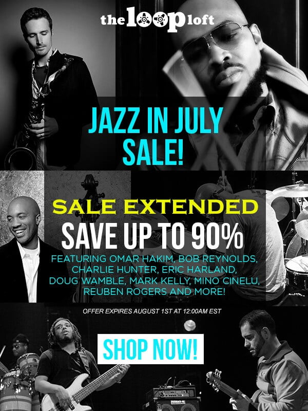 The Loop Loft Jazz In July Sale Extended