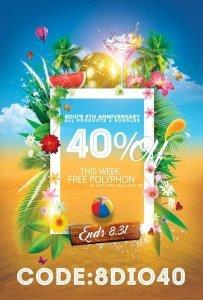 8Dio 5th Anniversary Sale