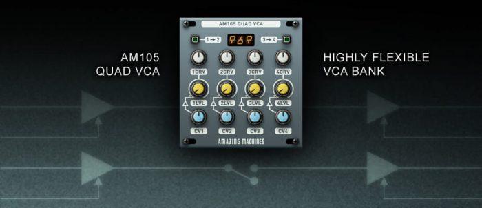 Amazing Machines AM105 Quad VCA