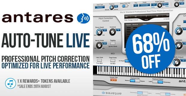 Antares Auto Tune Live sale