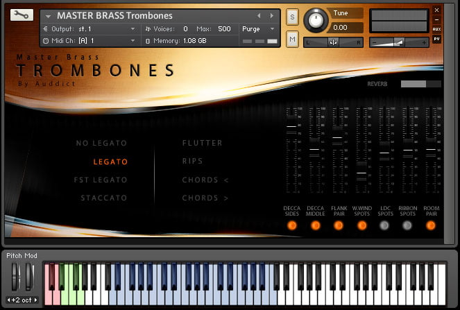 Auddict Master Brass Bundle Trombones