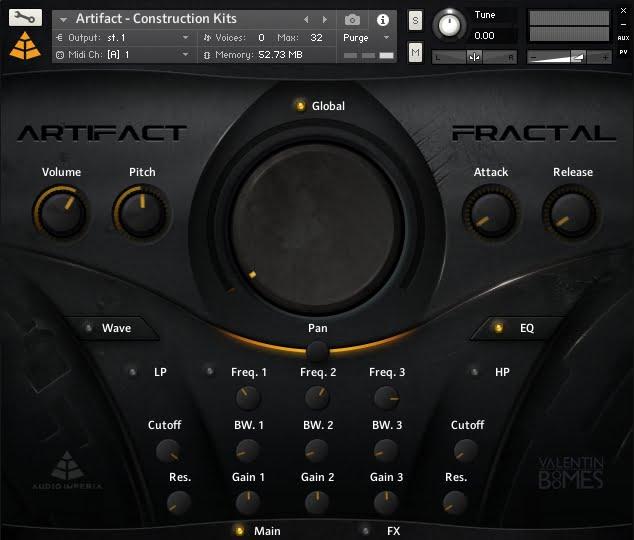 Audio Imperia Artifact - Fractal 02
