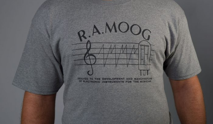 Bob Moog Foundation RA Moog shirt