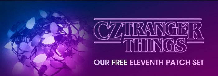 CZounds CZtranger Things banner
