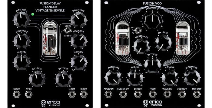 Erica Synths Fusion VCO & Delay Flanger Vintage Ensemble