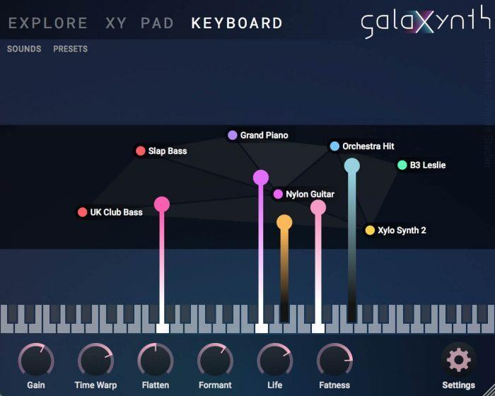 Heart of Noise GalaXynth Keyboard