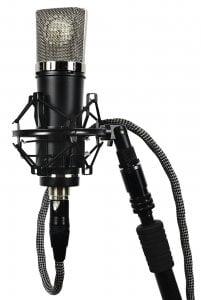 Lauten Audio LA-220 mount & cable