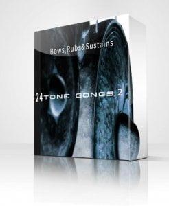 Noiseguild 24 Tone Gongs 2 Bows & Rubs