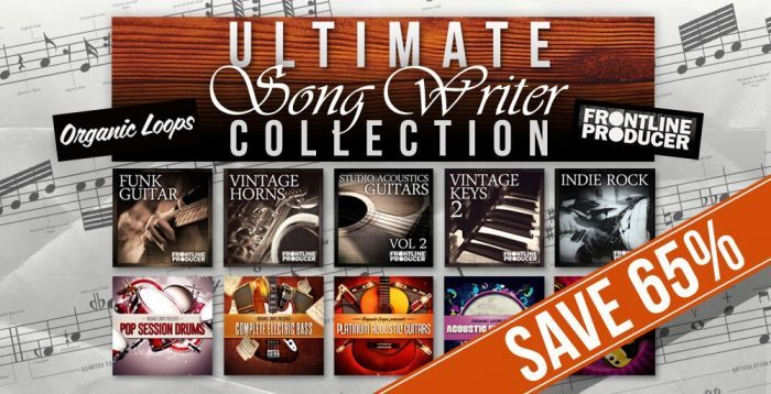 Organic Loops Frontline Producer Ultimate Song Writer Collection