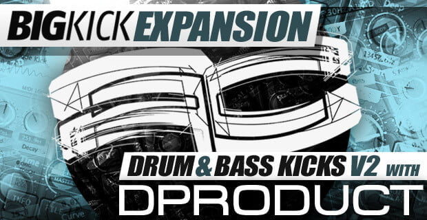 Plugin Boutique BigKick Expansion Drum & Bass Kicks V2 with D Product
