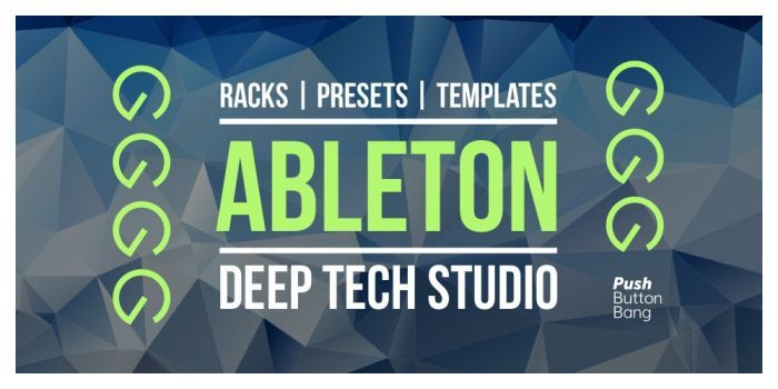 Push Button bang Ableton Deep Tech Studio