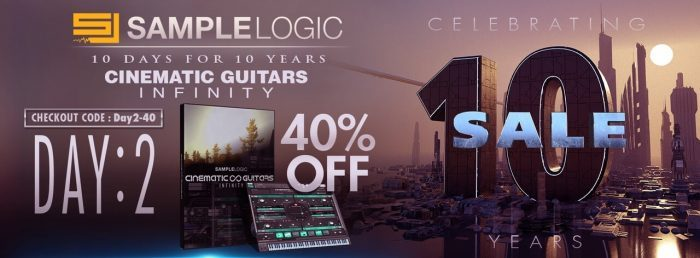 Sample Logic Cinematic Guitars Infinity sale