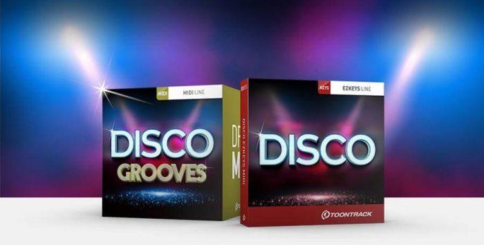 Toontrack Disco Grooves & Disco EZkeys MIDI