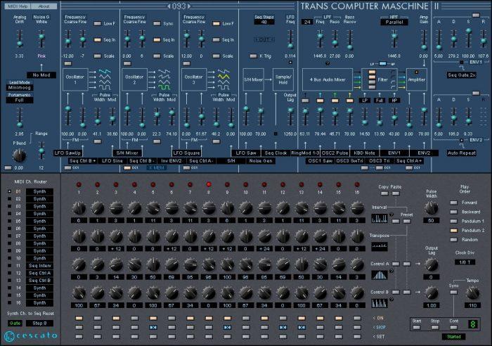 Cescato Musiktechnologie Trans Computer Maschine