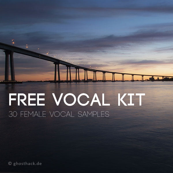 Ghosthack Free Vocal Kit