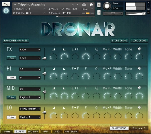 Gothic Instruments Dronar Guitarscapes expert