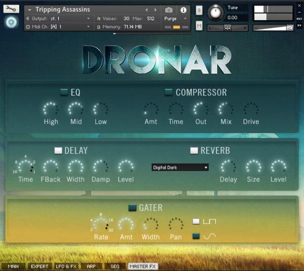 Gothic Instruments Dronar Guitarscapes master FX