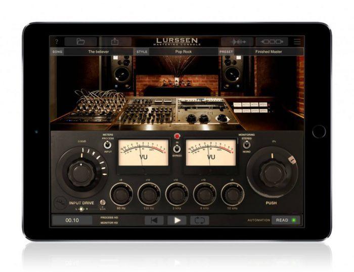 IK Multimedia Lurssen Mastering Console iPad