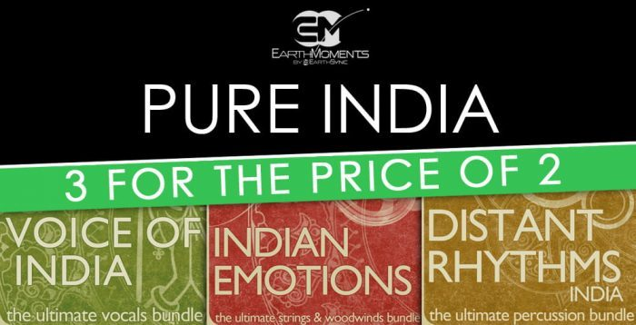 Loopmasters Earthmoments Pure India Bundle