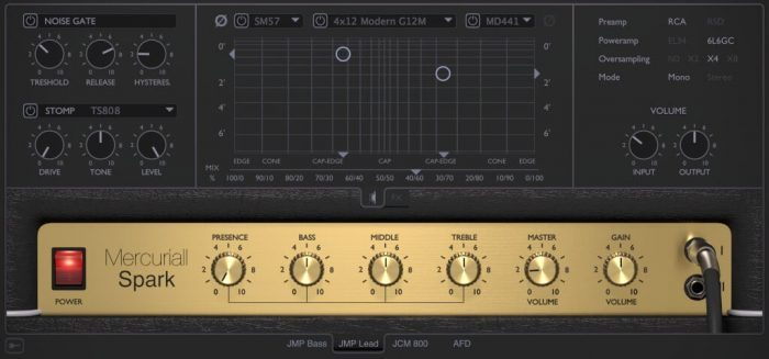 Mercuriall Audio Software Spark