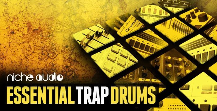 Niche Audio Essential Trap Drums