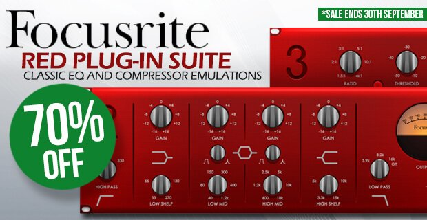 Focusrite Red Plug-In Suite