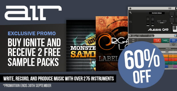 Plugin Boutique AIR Ignite Samplepacks 60