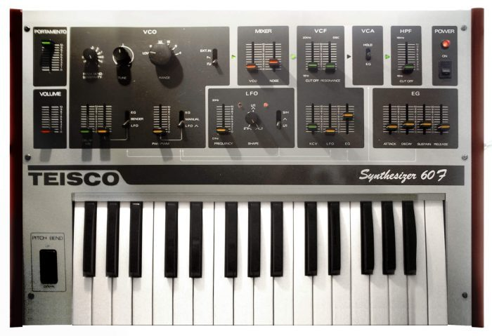 Teisco Synthesizer 60F (image by altemark@Flickr)