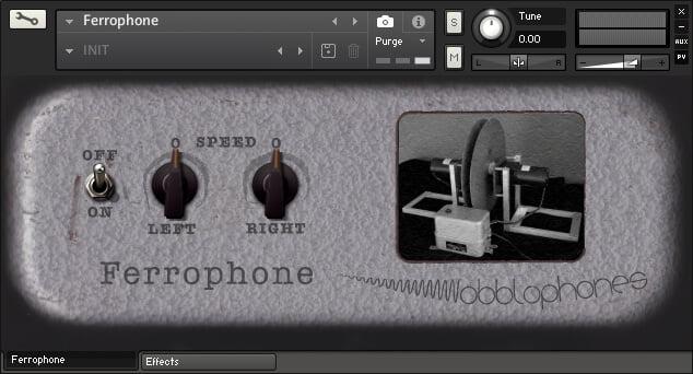 Wobblophones Ferrophone