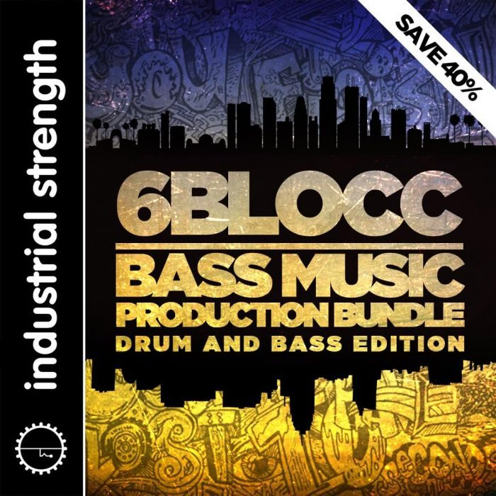 6Blocc Bass Music Production Bundle D&B Edition