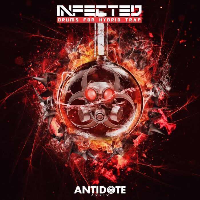 Antidote Audio Infected Drums For Hybrid Trap