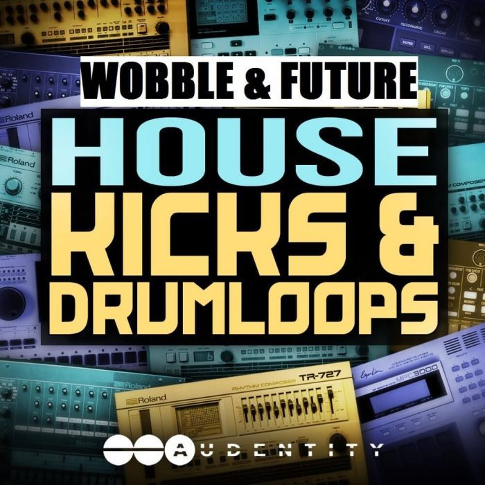Audentity Wobble & Future House Kicks & Drum Loops