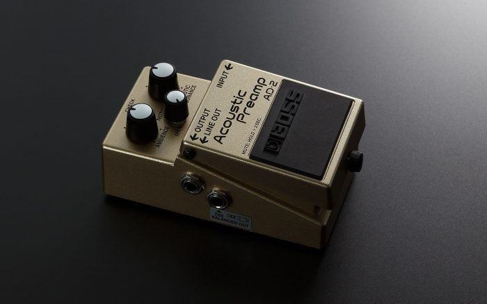 boss cp 1x compressor ad 2 acoustic preamp pedals announced. Black Bedroom Furniture Sets. Home Design Ideas