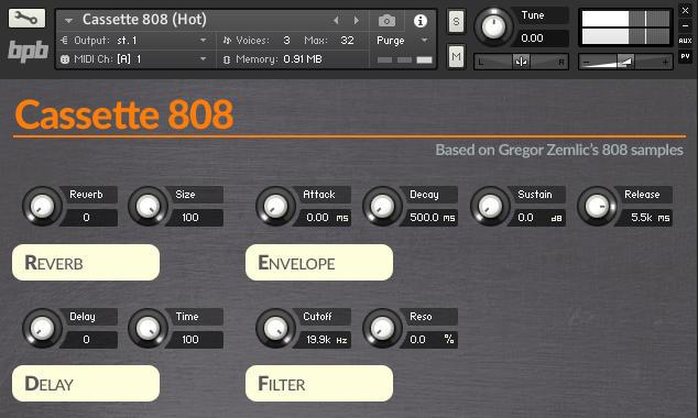 Bedroom Producers Blog Cassette 808